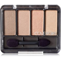 CoverGirl Eye Enhancers Eye Shadow, Sheerly Nudes 265, 0.19 oz (5.5 g) ❤ liked on Polyvore featuring beauty products, makeup, eye makeup, eyeshadow and filler