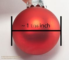 Free Beaded Christmas Ornament Covers | Small Beaded Ornament Cover Pattern