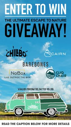 Backpacking, Camping, Toasters, Adventure Gear, Enter To Win, The Draw, Always Learning, Maybe One Day, Adventurer
