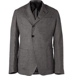 Alexander McQueen Lightweight Linen-Blend Jacket | MR PORTER ($500-5000) - Svpply
