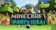 Minecraft is super popular and a friend of ours recently had a minecraft themed birthday party for her 8 year old son.  Helen did a great job and the kids had a blast! I asked her …