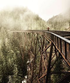 Ladner Creek Trestle, BC, Canada