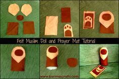 I made the Muslim Doll and Prayer Mat after seeing a photograph of some on the internet and thought they looked so cute!      The ph...