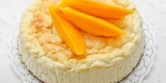 Protein Cheesecake with Mango