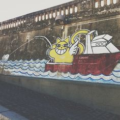 Mr.Chat Street-art
