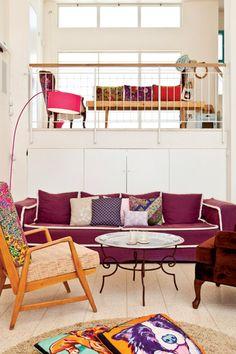 נישה - בית מעוצב במושב - קבלו הצצה לבית צבעוני ומלא שמחה במושב אדרת