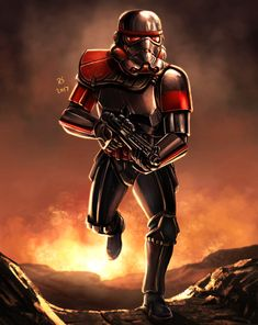 Inferno's finest: Art by Robert Shane (republished with permission). See more at www.starwarsgaming.net/tag/art #StarWars #StarWarsBattlefrontII #StarWarsBattlefron2 #StarWarsBattlefront #Battlefront2 #BattlefrontII