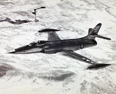 May 17, 1950: The air above Muroc Dry Lake, California, exploded in sonic booms as Lockheed test pilot Tony LeVier put the XF-90 (long-range penetration fighter and bomber escort.) through high-speed dive tests, reaching Mach 1.12.
