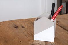 DIY porte-crayon en