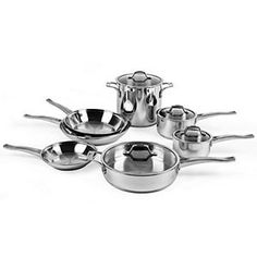 Calphalon Refined 11-piece Stainless Steel Cookware Set Calphalon Refined 11-piece Stainless Steel Cookware Set.  #Calphalon #Kitchen