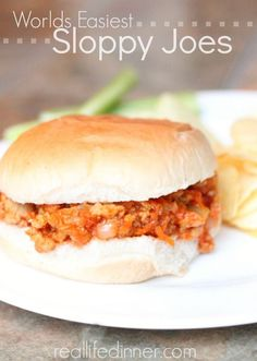 Ketchup Sloppy Joes This recipe is awesome. Super fast. Delicious. Everybody likes it…..and SO EASY!!! To top it off, it takes like 10 minutes to make. (oh wait, I already mentioned super fast…) Anywho, all you do is, brown a little ground beef or ground turkey, add some ketchup, a little mustard and some …