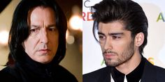 QUIZ: Whose hair is it - Zayn Malik or Severus Snape's? -Sugarscape.com