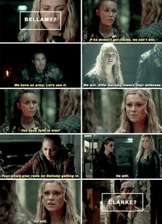 #The100 #ClarkeGriffin #Bellarke