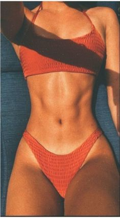 2020 Women Swimsuits Bikini Womens Bathing Suits Near Me Strapless Bik – kohlrabiral Cute Swimsuits, Cute Bikinis, Women Swimsuits, One Piece Swimsuit Red, Red Swimsuit, Bikinis Lindos, Motard Sexy, Brasilianischer Bikini, Female Fitness