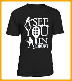 See You In Court Tennis Ball T shirt - Tischtennis shirts (*Partner-Link)