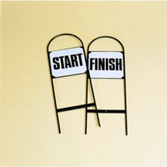 Show Jump Start Finish Markers A wide range of markers are available including numbers letters start and finish as well as spare self adhesive labels all are good quality and strong construction