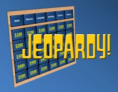 Classroom Jeopardy- Free Powerpoint game that plays just like the real thing!
