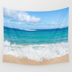 This Hawaiian Ocean Wall Tapestry is perfect for a beach cottage or coastal theme home decor. This is wonderful ocean and beach gift! Also it is easy and affordable way to create your happy place and it looks amazing! Dont forget - you can personalized it, just let me know!  Available in 6 sizes: - Small with grommets: 26x36 - Medium with grommets: 50x59 - Large with grommets: 59x80 - Small (no grommets): 51 x 60 - Medium (no grommets): 68 x 80 - Large (no grommets): 88 x 104  Made of 100...