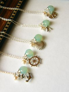 Nautical+Necklace+Keepsake++Sterling+Silver++by+LaBodaCollection,+$36.40