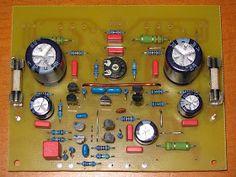 Audio kit: Class AB BJT 100 Watt Hi-End audio power amplifier circuit Diy Electronics, Electronics Projects, Voltage Divider, Hi End, Audio Amplifier, Circuit Diagram, Abs, Layout Design