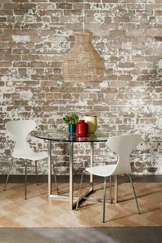 Drawn brick distressed - pin to your gallery. Explore what was found for the drawn brick distressed Decor, Painted Brick Walls, Faux Brick Walls, Brick Fireplace, Home Decor, Diy Brick Wall, Painting Brick Interior, Fireplace Wall, Painted Brick