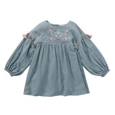 LIttle Girls Fashion - Rozalia Dress - Silver Cloud Little Girl Fashion, Fashion Kids, Louise Misha, Cool Kids Clothes, Vintage Kids Clothes, Baby Girl Shirts, Baby Boutique Clothing, Stylish Girl Pic, Silver Dress