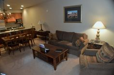 Lone Eagle 3023 living room with new furniture from Keystone Storefront