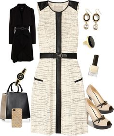 """""""Work or Church"""" by denise-cooper ❤ liked on Polyvore"""