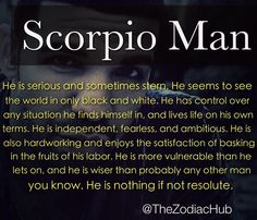 What You Need To Know About Scorpio Men For More Zodiac Fun Facts