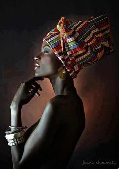 By the photographer from Ivory Coast Joana Choumali. black beauty.