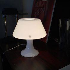 Holmegaard Glass Table Lamp Mouth Blown Glass デンマーク 王室御用達ガラスブランド ホルムガード デンマークで ホーメゴといいますね(-) 白色ガラスの透過した 灯りも素敵です(-) #siddesta  #シーデスタ #福岡市 #福岡 #ホルムガード  #ホーメゴ  #テーブルランプ  #ガラスランプ  #北欧雑貨 #北欧家具 #holmegaard  #tablelamp  #glasslamp  #mouthblownglass  #danishlamp  #danishdesign