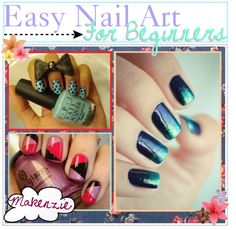 """""""Easy Nail Art for Beginners! ♥"""" by the-tip-jarxx ❤ liked on Polyvore"""
