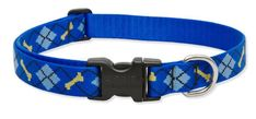 Lupine 1 Inch Dapper Dog Adjustable Dog Collar for Medium and Large Dogs -- Don't get left behind, see this great dog product : Collars for dogs