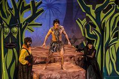 Resultado de imagen para obra de teatro el libro de la selva ESCENARIO