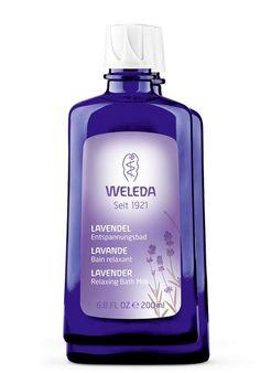 Weleda Lavendel Ontspanningsbad 100 ml - Behoefte aan rust en ontspanning? De zachte geur van Lavendel Ontspanningsbad blijft als een wolk om je heen hangen en in combinatie met het warme water van een (voeten)bad gaat er een heerlijk kalmerende invloed van uit.