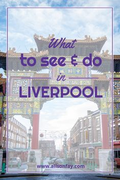 Free Travel Guide on what to see and do in Liverpool, England. england Top Things to see & do in Liverpool Anfield Liverpool, Romantic Vacations, Romantic Getaway, Holiday Destinations, Travel Destinations, Camisa Liverpool, Small Yachts, Liverpool England, Travel