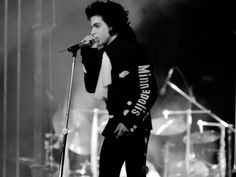 Prince from the Lovesexy tour.