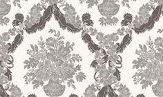 Tapet vinil gri crem floral 1229 Cristina Masi Carlotta World, Floral, Collection, Design, Art, Christians, Art Background, Flowers, Kunst