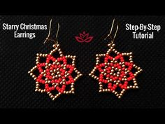 How to make DIY beaded earrings? How to make DIY beaded earrings? Bead Jewellery, Seed Bead Jewelry, Seed Bead Earrings, Diy Earrings, Jewellery Supplies, Jewelry Findings, Diy Christmas Earrings, Christmas Diy, Holiday Jewelry