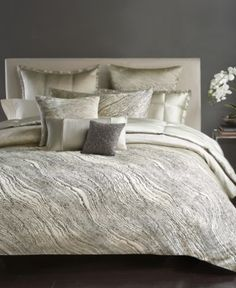 Donna Karan Modern Pulse Collection - Bedding Collections - Bed & Bath - Macy's