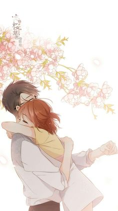 """Anime Couples I could be wrong.but this looks like Hana and Mr. Jin from """"A Good day to be a Dog"""" :D Anime Couples Drawings, Anime Couples Manga, Couple Drawings, Cute Anime Couples, Art Drawings, Romantic Anime Couples, Couple Sketch, Anime Amor, Anime Cupples"""