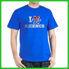 CafePress - I Love Science - 100% Cotton T-Shirt - Math science and geek shirts (*Amazon Partner-Link)