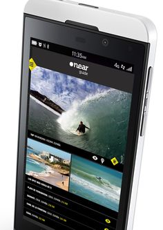 BLACKBERRY Z10 SURF APP - SPAINCREATIVE