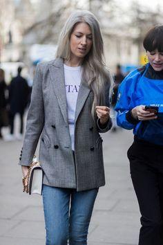 london-fashion-week-street-style-fall-winter-2017... - Fall-Winter 2017 - 2018 Street Style Fashion Looks