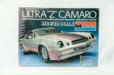 Monogram Ultra Z Camaro Model Cars Kits, Kit Cars, Car Kits, Vintage Models, Old Models, Plastic Model Kits, Plastic Models, Camaro Models, Car Wrap