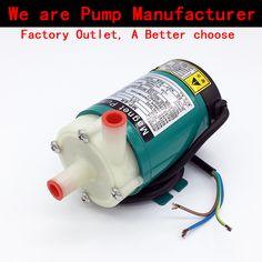 Magnetic Drive Circulation Water Pump 220V MP-6R 2.8~8L/min( 60HZ: 5~9 L/min) Strong Corrosion Resistance Replenish pumps