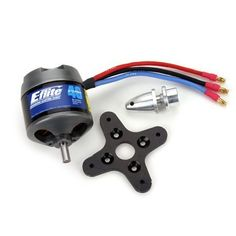 E-Flite Power 46 Brushless Outrunner Motor, 670Kv by E-flite. $89.99. Ideal for 40- to 46-size airplanes weighing 4 to 7 pounds (1.8–3.2 kg), 25- to 40-size 3D airplanes up to 5 pounds (2.2 kg), or models requiring up to 925 watts of power.. Save 24% Off!