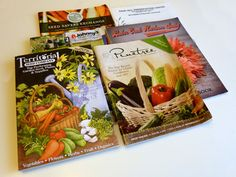 A great collection of natural seed catalogs!