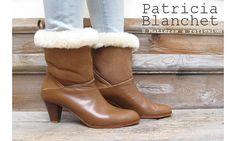 Patricia Blanchet boots fourrée Memere #patriciablanchet #furboots #bottesfourrées #brrr #sofashion #frenchfashion