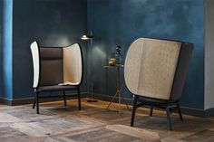 Hideout Lounge Chair by Front for Gebruder Thonet Vienna | Yellowtrace